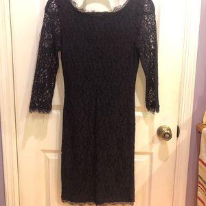 Purple Lace Dress-Size 2